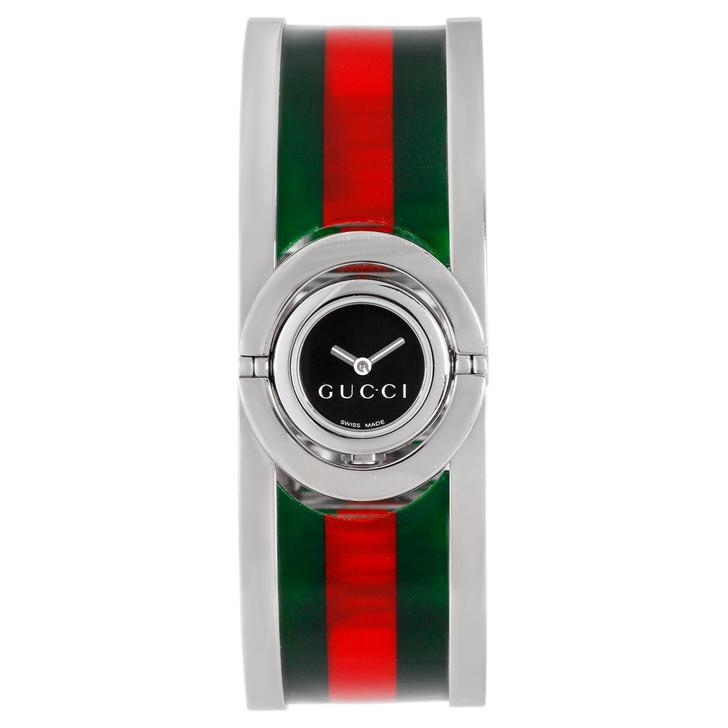 Gucci Stainless Steel Twirl Ladies Watch YA112517