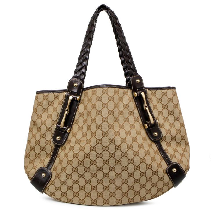 Gucci Monogram Medium Pelham  Shoulder Bag