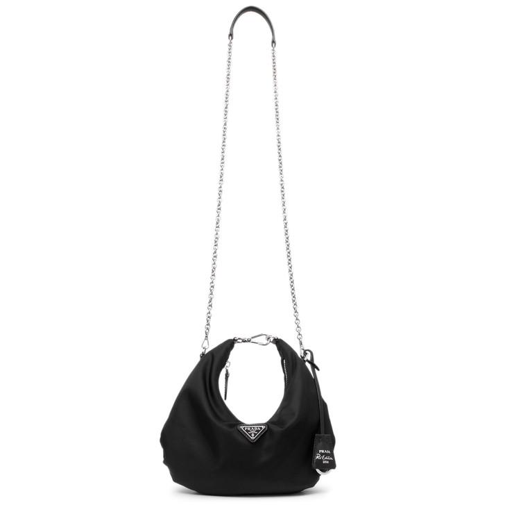 Prada Black Tessuto Nylon Re-Edition 2006 Shoulder Bag