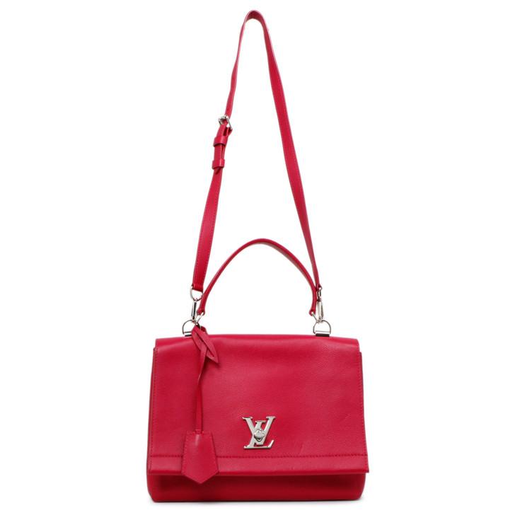 Louis Vuitton Dahlia Soft Calfskin Lockme II Top Handle