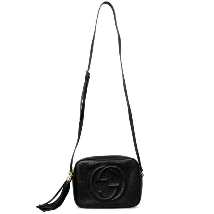 Gucci Black Calfskin Soho Disco  Bag