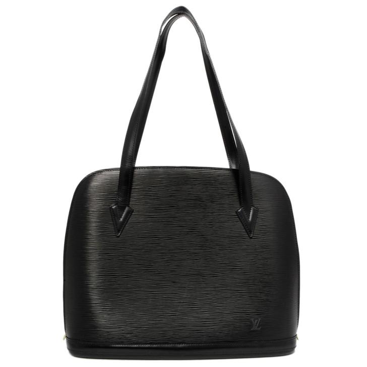 Louis Vuitton Black Epi  Lussac