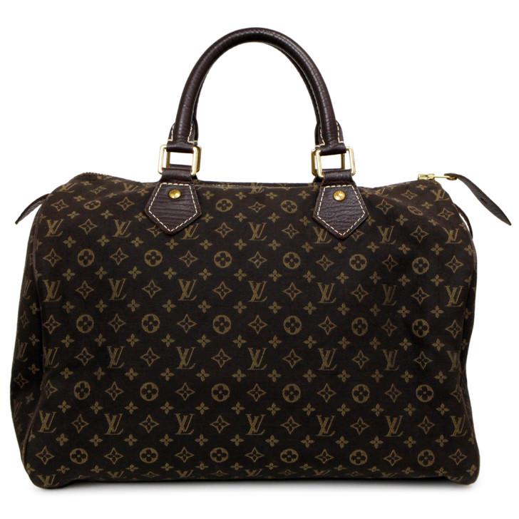 Louis Vuitton Fusain Monogram Idylle Speedy  30