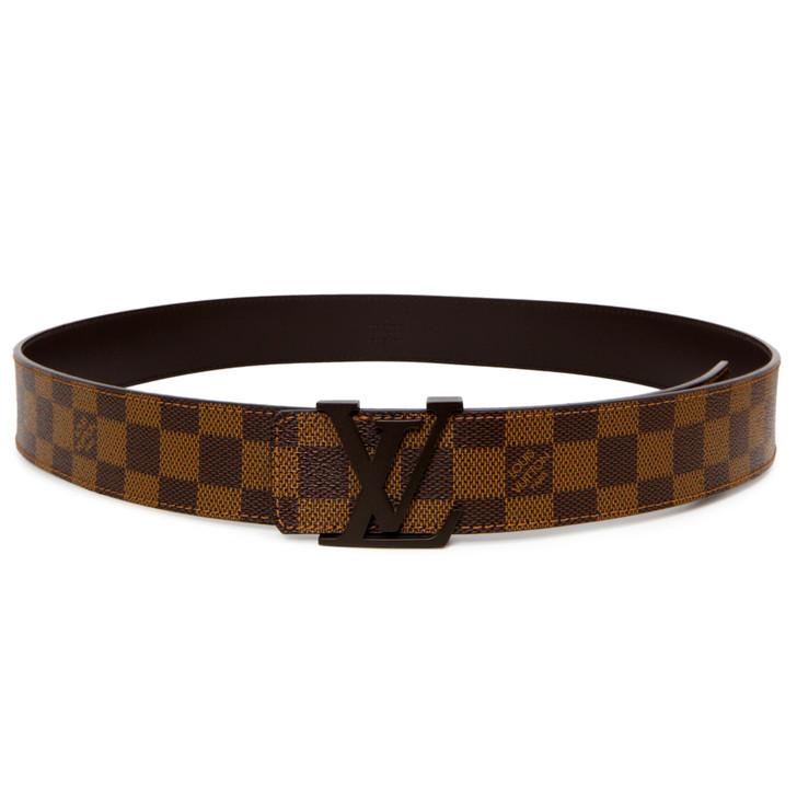 Louis Vuitton Damier Ebene Initiales 40mm  Belt