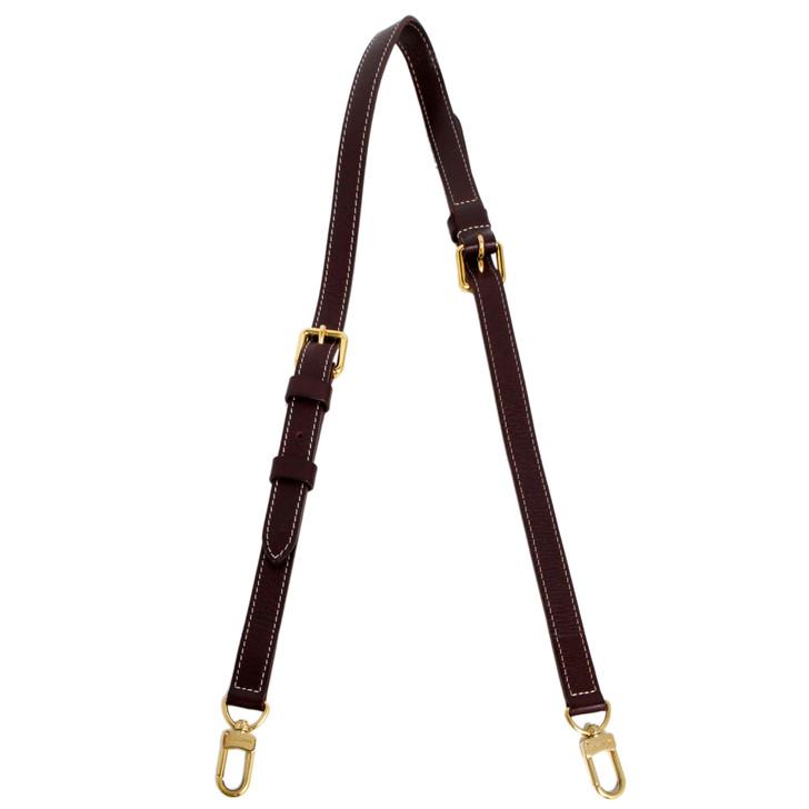 Louis Vuitton Sepia Calfskin Speedy Bandouliere Shoulder Strap