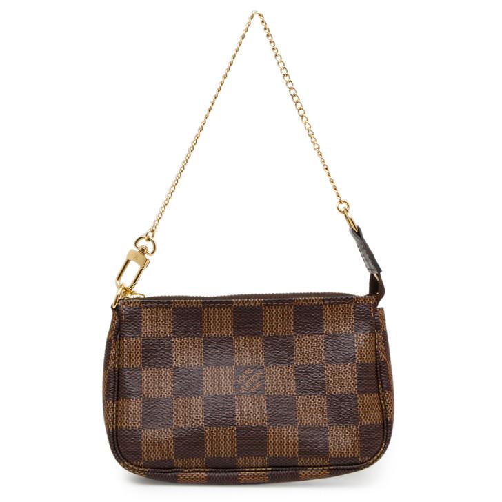 Louis Vuitton Damier Ebene Mini  Pochette Accessoires