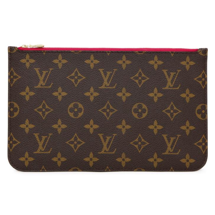 Louis Vuitton Monogram Neverfull  Pochette MM/GM