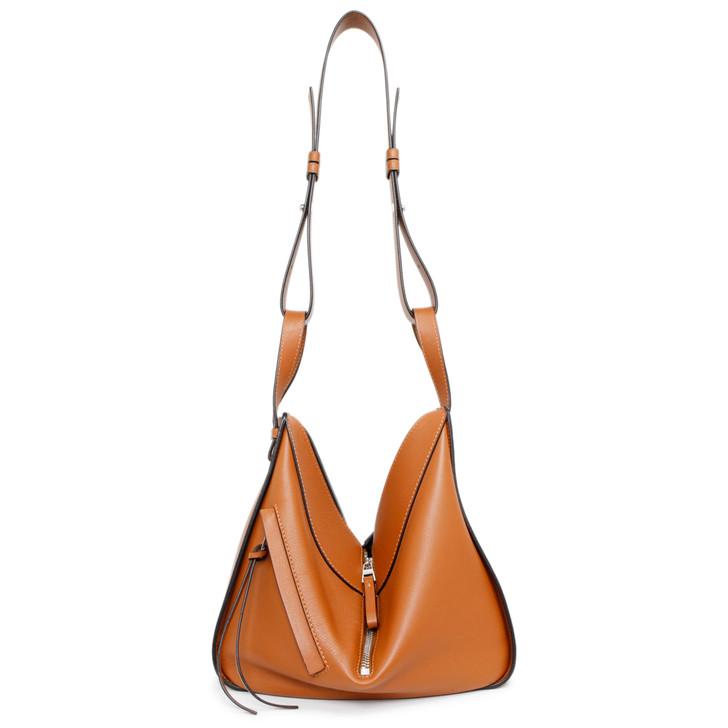 Loewe Tan Calfskin Small Hammock Bag