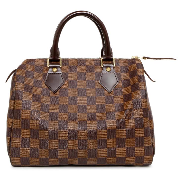 Louis  Vuitton  Damier Ebene Speedy 25