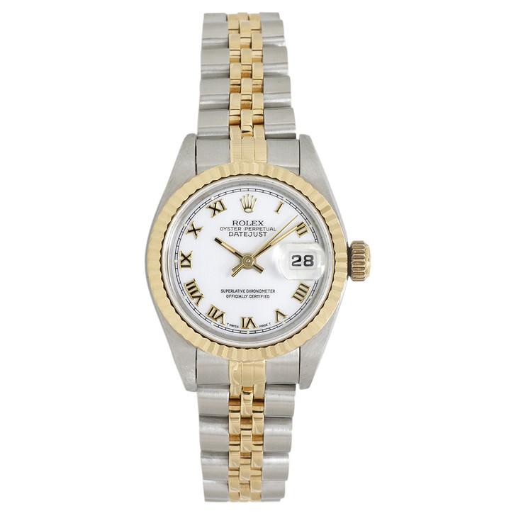 Rolex 18K & Stainless  Steel Ladies Datejust 69173