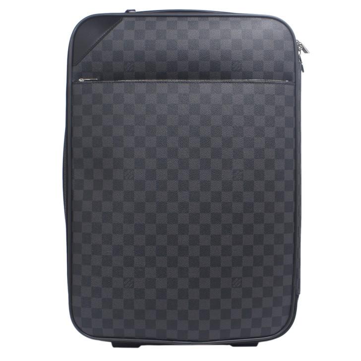 Louis Vuitton Damier Graphite Pegase Light 55 Rolling Luggage