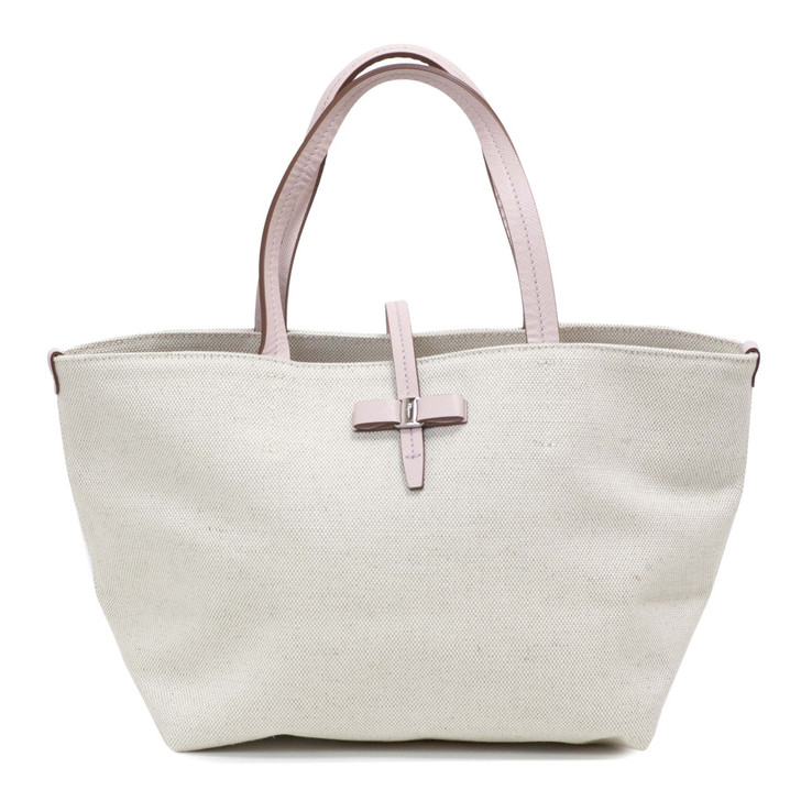 Salvatore Ferragamo Small Canvas Tote