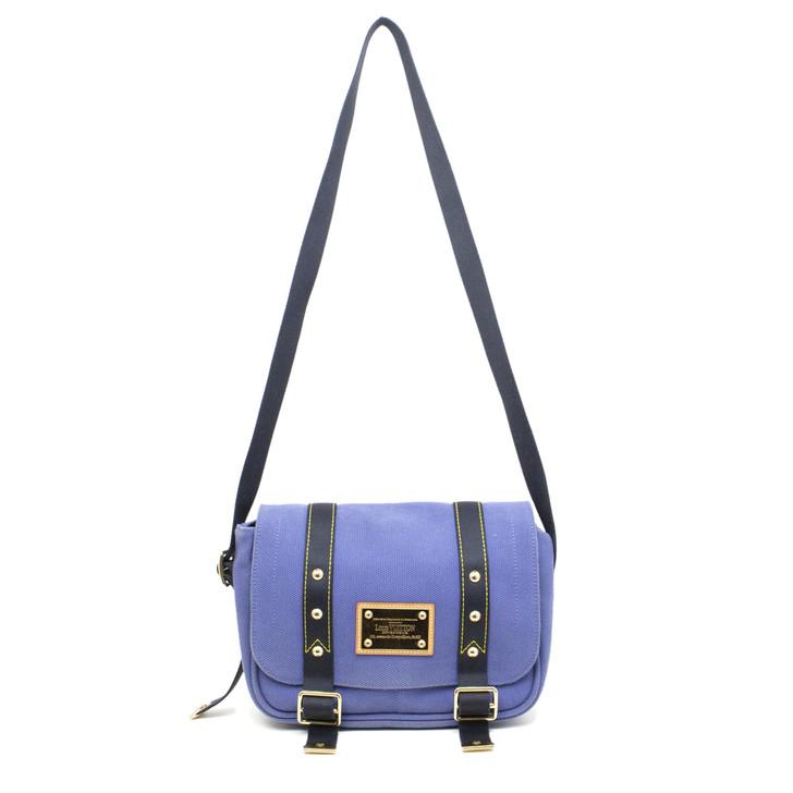 Louis Vuitton Indigo Antigua Besace PM Messenger Bag