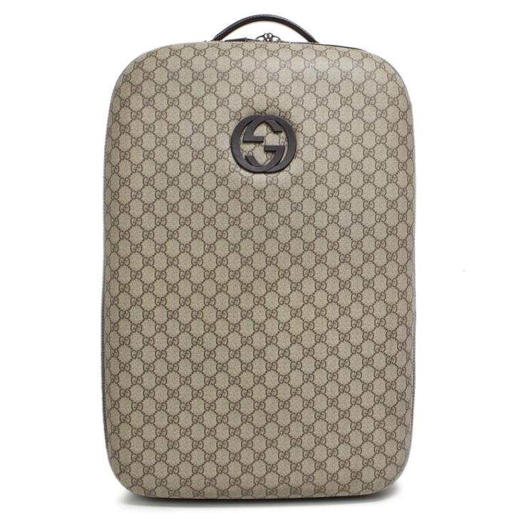 Gucci GG Plus Interlocking G Trolley Luggage