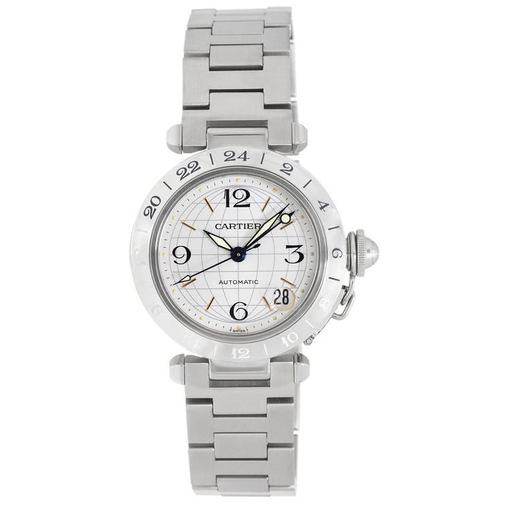 Cartier Pasha C GMT Meridian Automatic Watch W31078M7