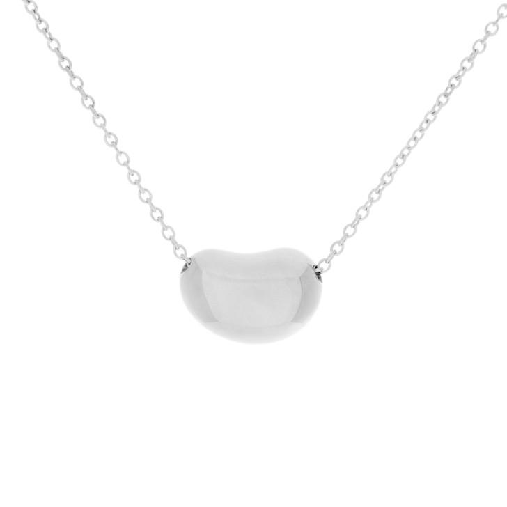 Tiffany & Co. Sterling   Silver Bean Pendant