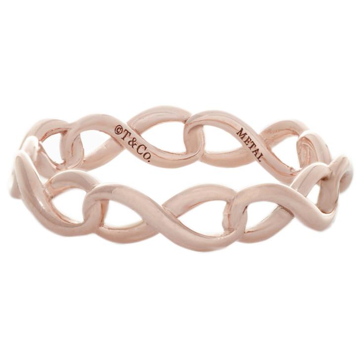 Tiffany & Co. Rubedo Infinity Narrow Band  Ring