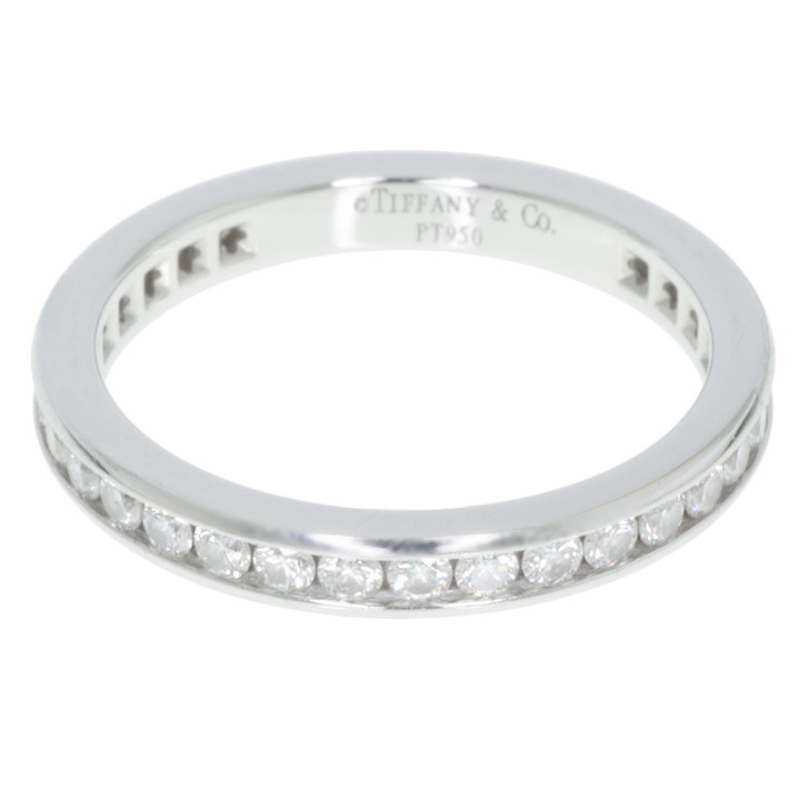Tiffany & Co. Channel Set Band Ring