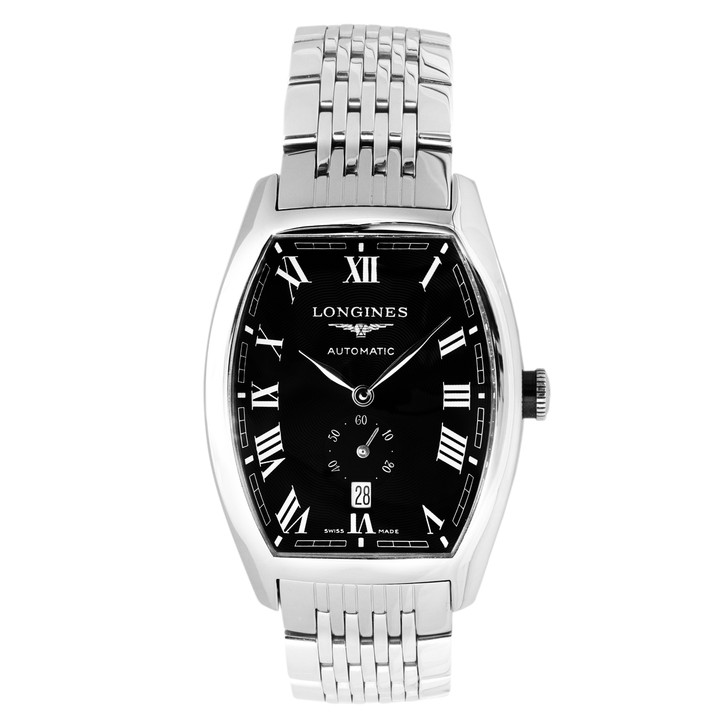 Longines Stainless Steel Evidenza Automatic Watch l2.642.4.51.6