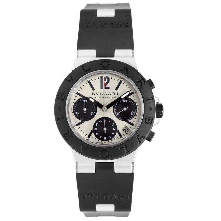 Bvlgari Diagono Aluminum Chronograph Automatic Watch AC 38 TA