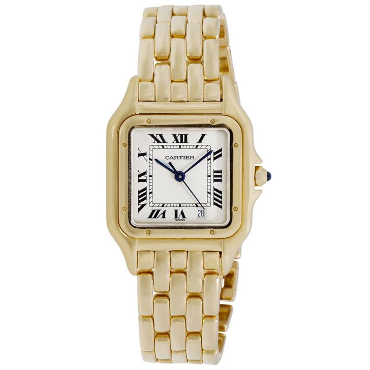 Cartier 18K Yellow Gold Panther Quartz Watch