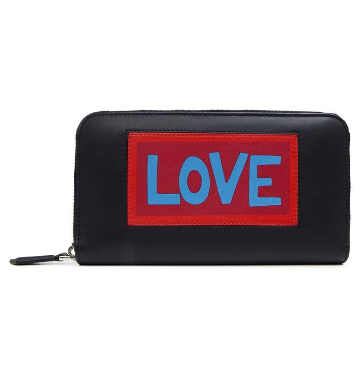 Fendi Vocabulary 'Love' Continental Wallet