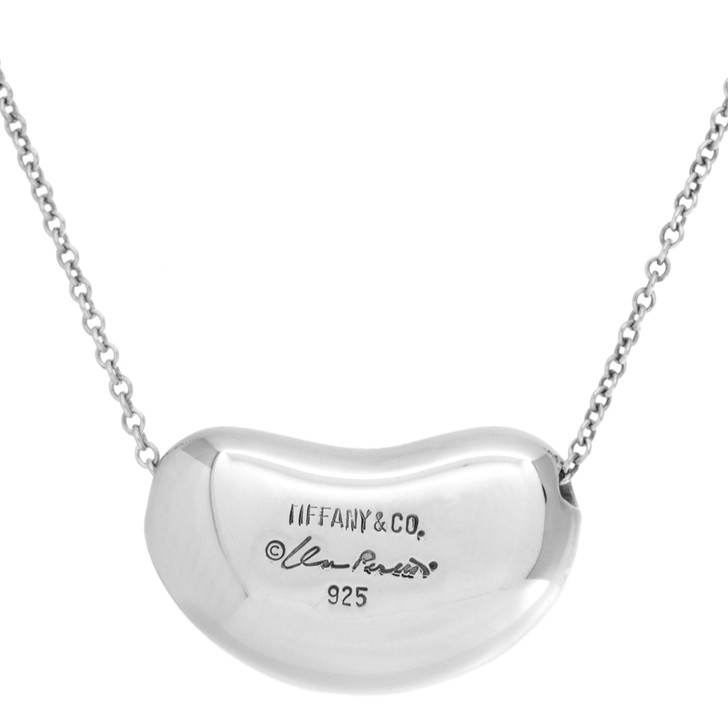 Tiffany & Co. Sterling Silver Large Bean   Pendant