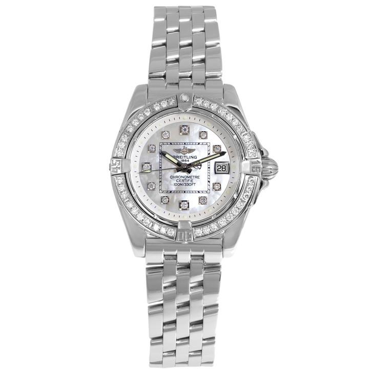 Breitling Cockpit Diamond Ladies Quartz Watch A71356