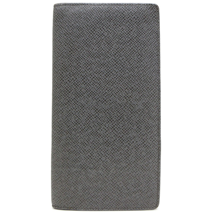 Louis Vuitton Grey Taiga Obsolete Long Wallet