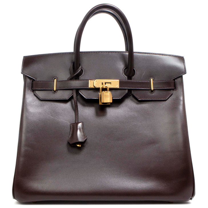 Hermes Chocolate Box HAC Birkin 32