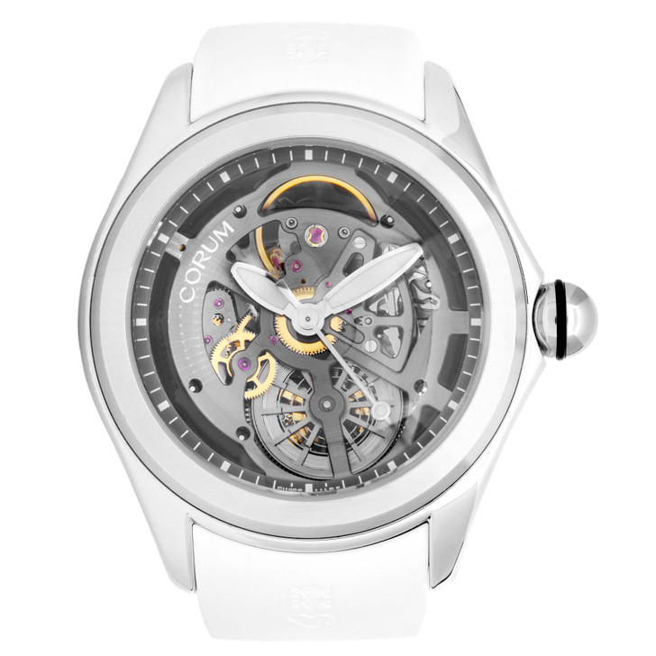 Corum Stainless Steel Bubble Skeleton Automatic Watch