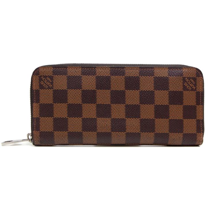 Louis Vuitton Damier Ebene Zippy Wallet Vertical