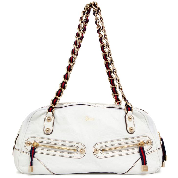 Gucci Ivory Capri Bag