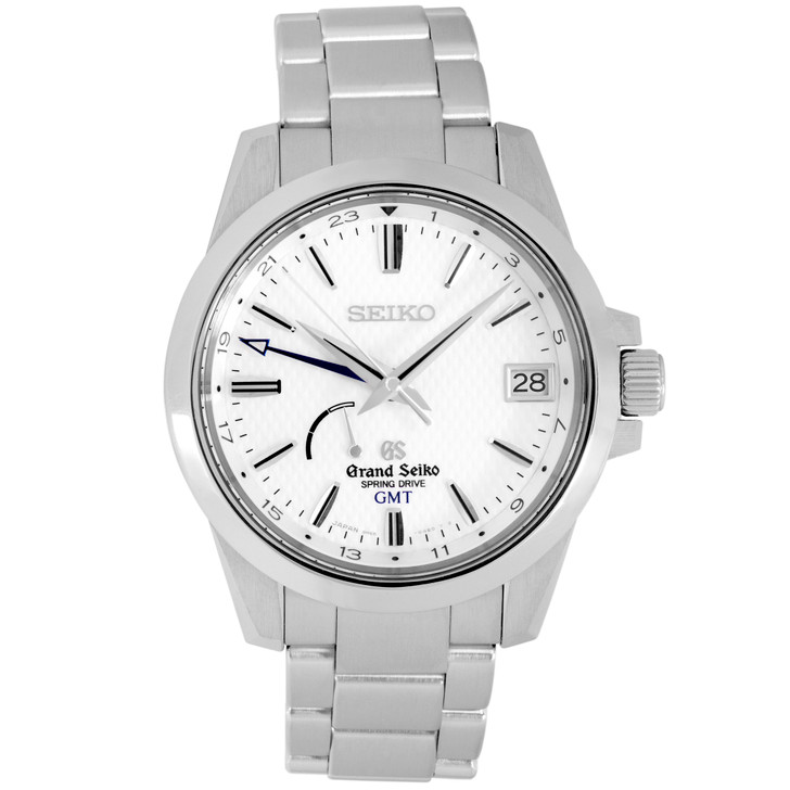 Grand Seiko Stainless Steel Spring Drive GMT SBGE009