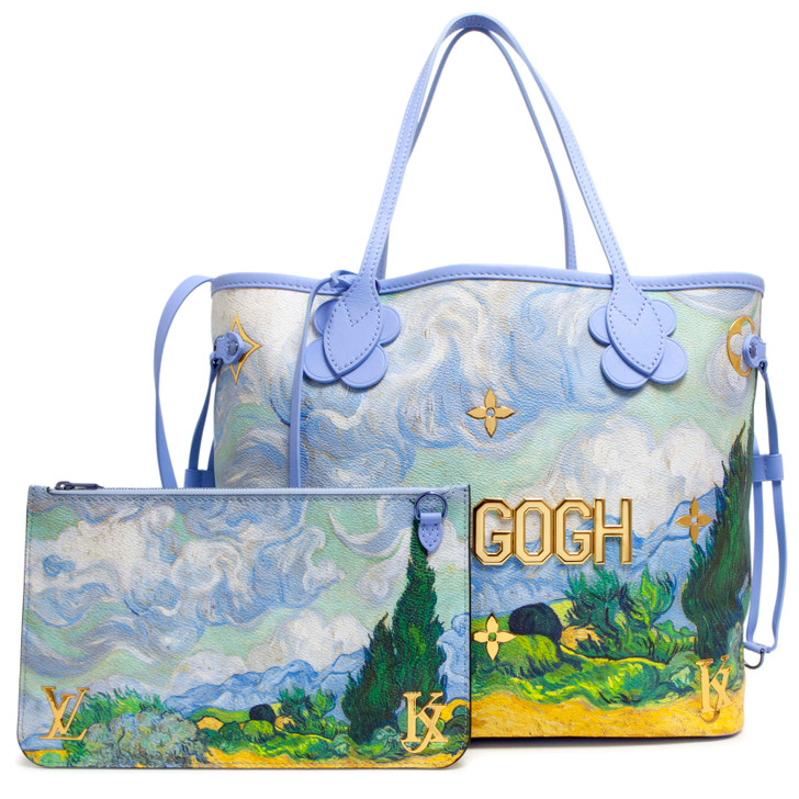 Louis Vuitton Masters Jeff Koons Van Gogh Neverfull MM