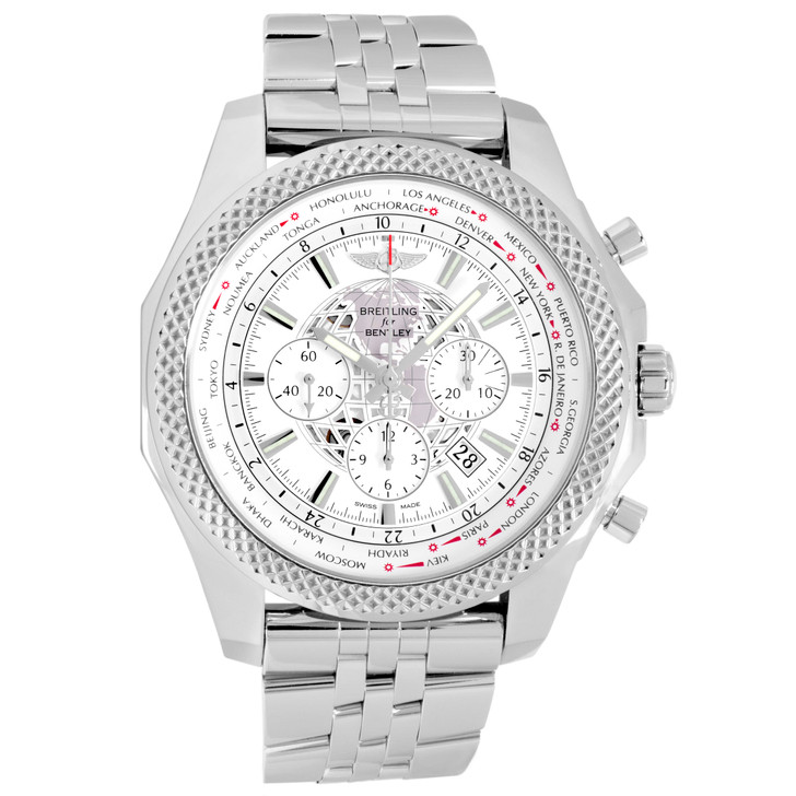 Breitling Stainless Steel Bentley B05 Unitime Watch AB0521