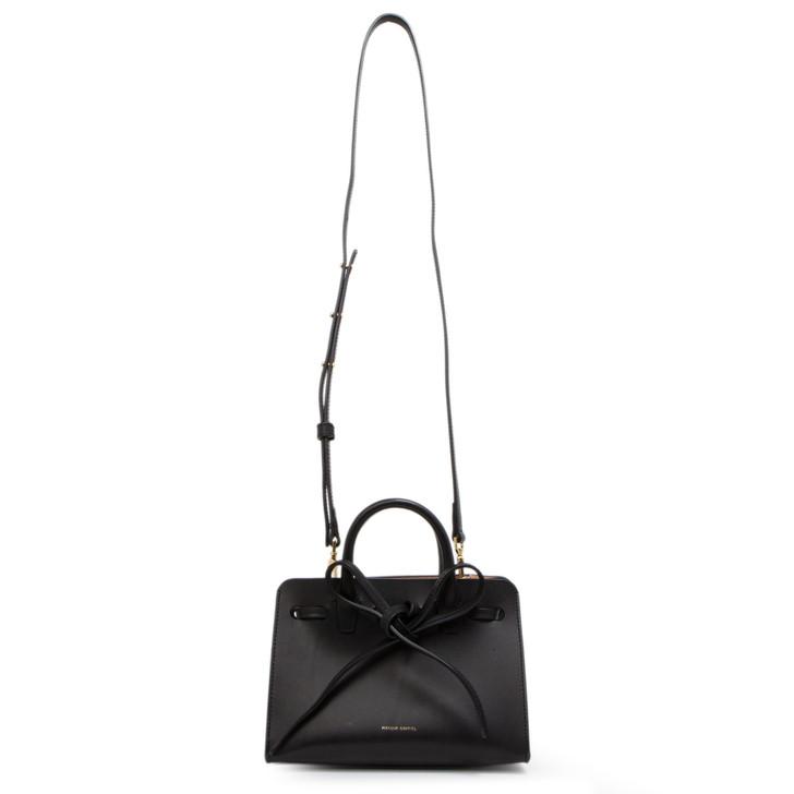 Mansur Gavriel Black Ballerina Calfskin Mini Mini Sun Bag