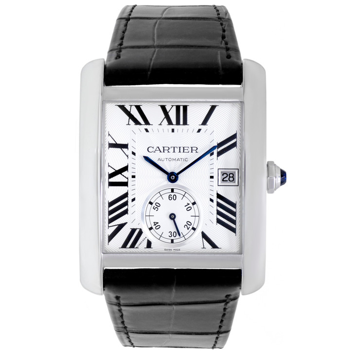 Cartier Stainless Steel Tank MC Automatic Watch W5330003