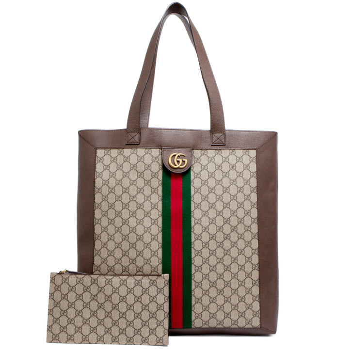Gucci Soft GG Supreme Ophidia Large Tote