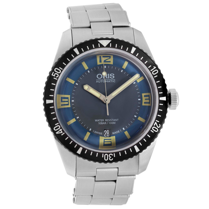 Oris Stainless Steel Divers Sixty-Five 01 733 7707 4065