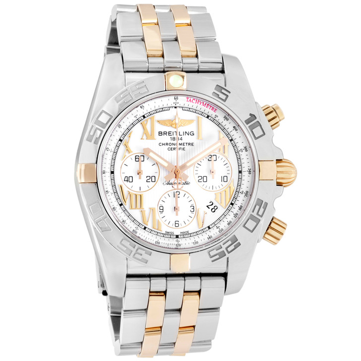 Breitling Stainless Steel & 18K Chronomat Chronograph IB0110