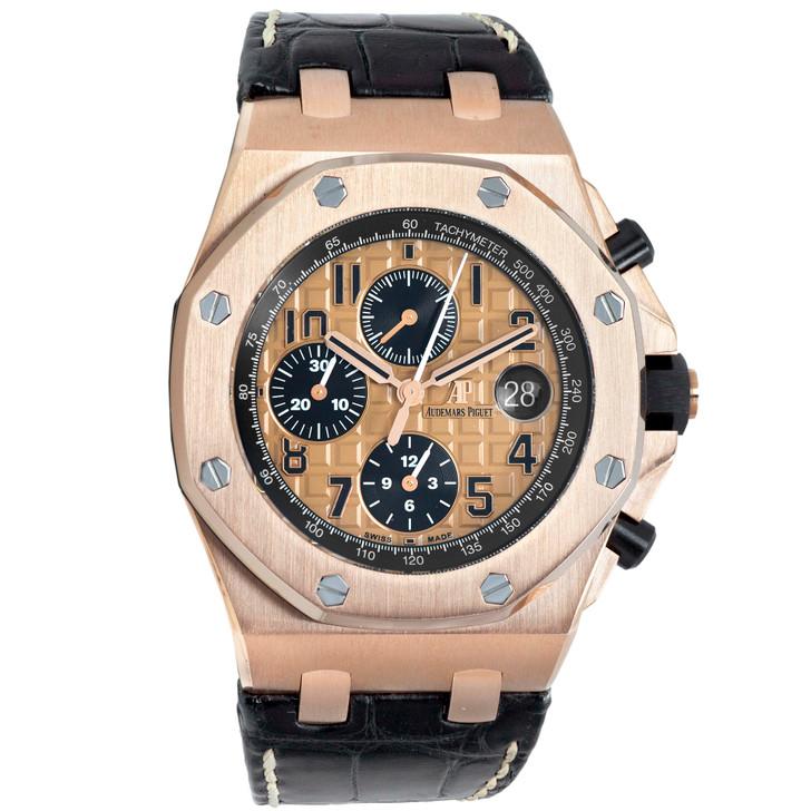 Audemars Piguet 18K Pink Gold Royal Oak Offshore 26470OR.OO.A002CR.01