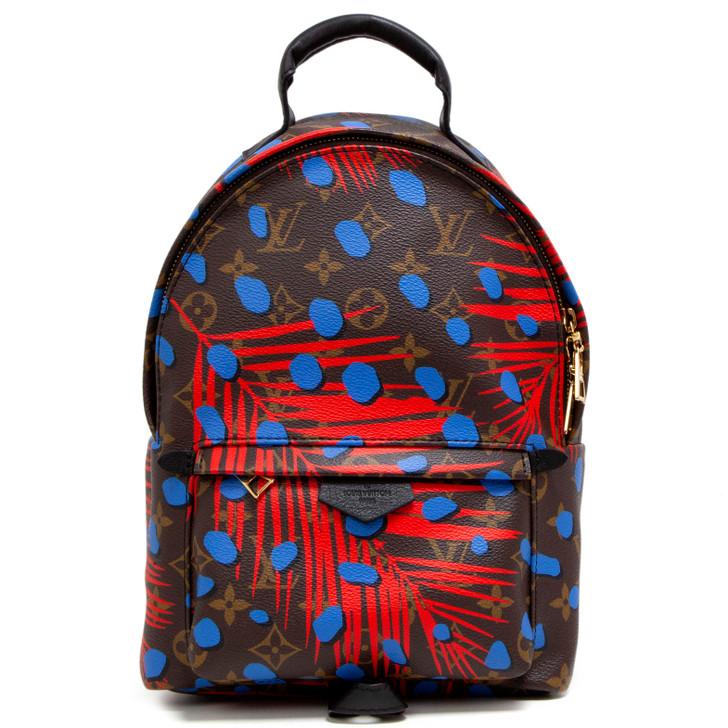 Louis Vuitton Monogram Jungle Dots Palm Springs Backpack PM