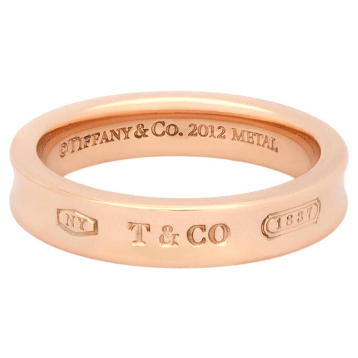 Tiffany & Co. Rubedo 1837  Narrow Band Ring