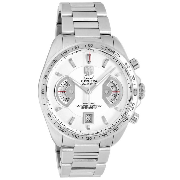 Tag Heuer Stainless Steel Grand Carrera Chronograph CAV511B
