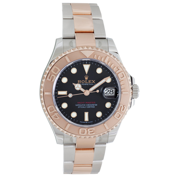 Rolex Stainless Steel & Everose Yacht-Master 37 268621