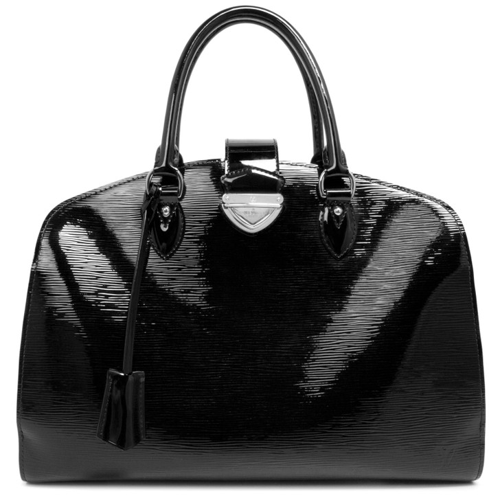 Louis Vuitton Black Electric Epi Pont-Neuf GM