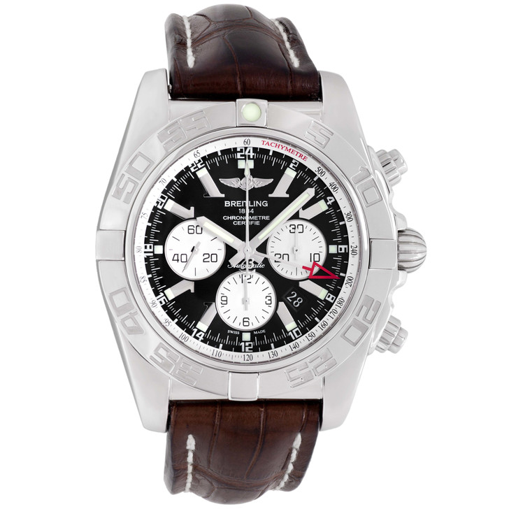 Breitling Stainless Steel Chronomat GMT AB0410