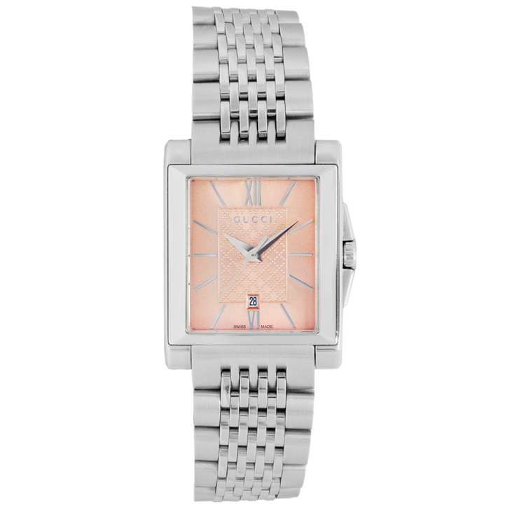 Gucci Stainless Steel G-Timeless Quartz Watch