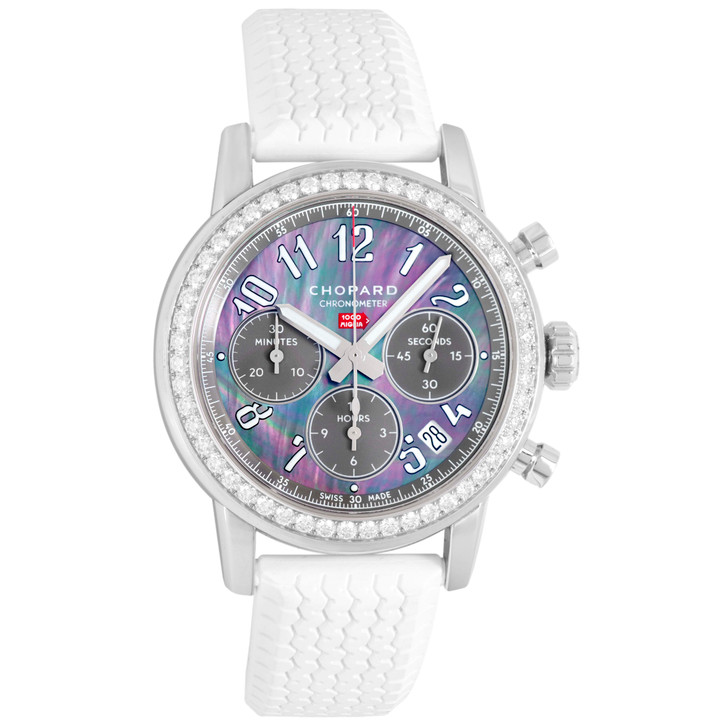 Chopard Stainless Steel & Diamond Mille Miglia Classic Chronograph 178588-3002